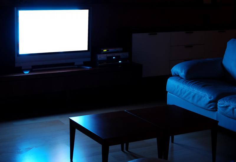 Телевизор ночью